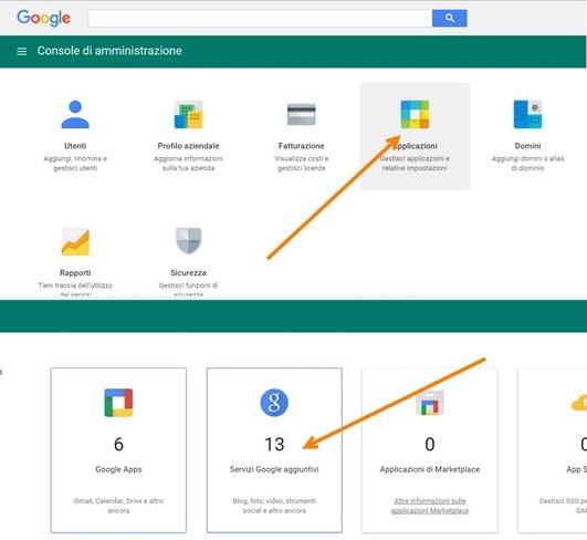 console-amministrazione-google-apps