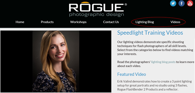 Rogue New Lighting Blog and Videos