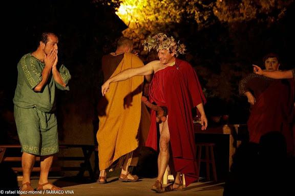 IN DOMO MAECENATIS. A casa de Mecenes. El teatre en època d'August. Recreació històrica. Aula teatre URV (Tarragona)Muralles romanes de Tàrraco. Patrimoni MundialTARRACO VIVA, el festival romà de Tarragona. XVIa ed.Tarragona, Tarragonès, Tarragona