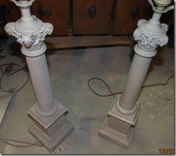 10 Whitewashed lamp GREY