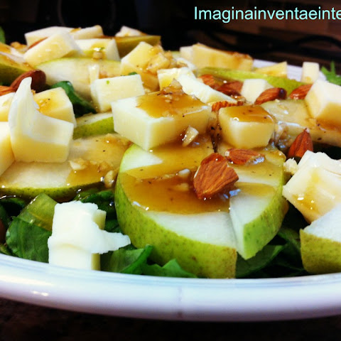 Pear Salad and Vinaigrette