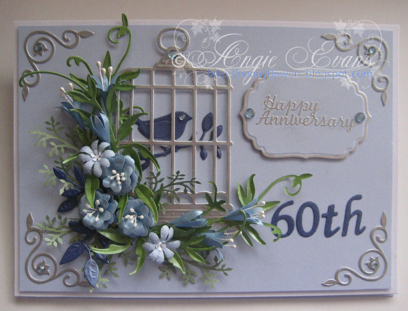 60th Wedding Anniversary.