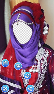 Hijab Queen Photo Frames - screenshot