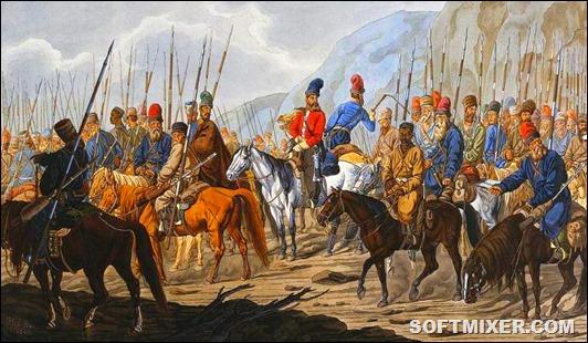 YAitskie-Uralskie-kazaki-v-pohode