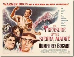 Treasure of Sierra Madre poster small