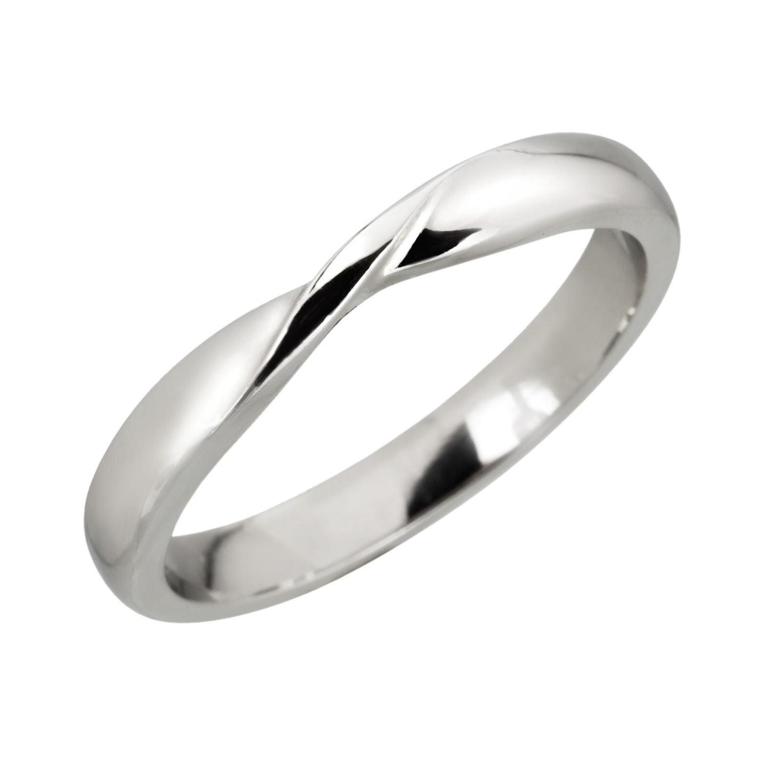 Fitted wedding rings