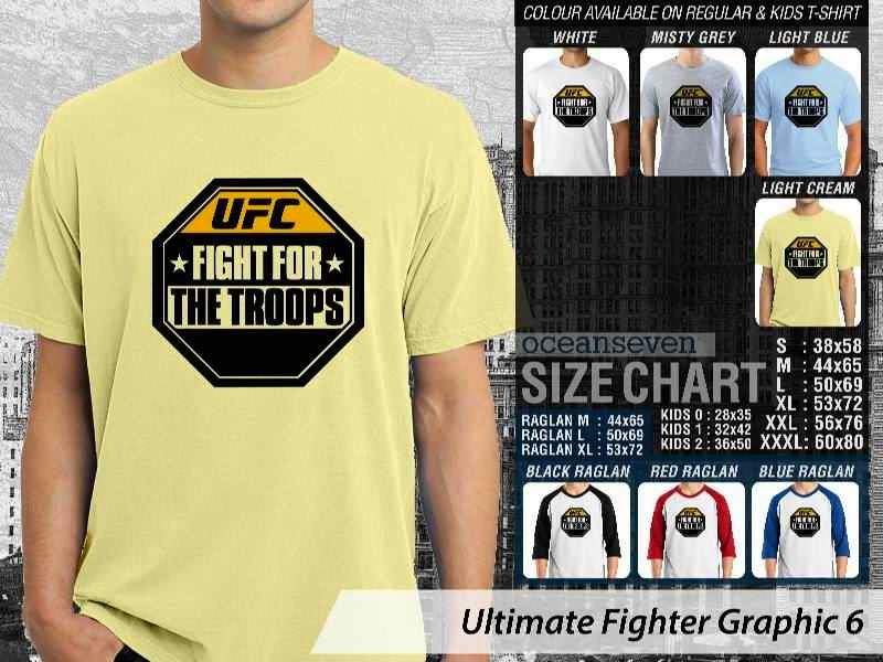 Kaos UFC Ultimate Fighter UFC Fight For The Troops Graphic 6 distro
