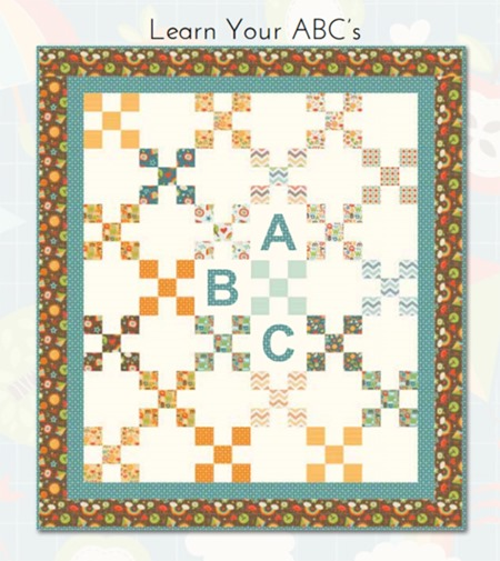 Learn Your ABC's quilt pattern