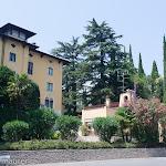 Villa, in der Maria Callas ein paar Jahre wohnte / Вилла, в которой жила несколько лет Мария Каллас