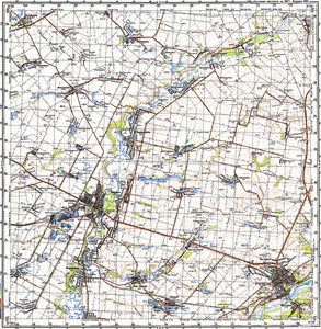 Map 100k--m36-095--(1987)