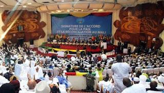 Mali: conclusion d'un important accord de paix en 2015, aujourd'hui en pleine phase de mise en oeuvre