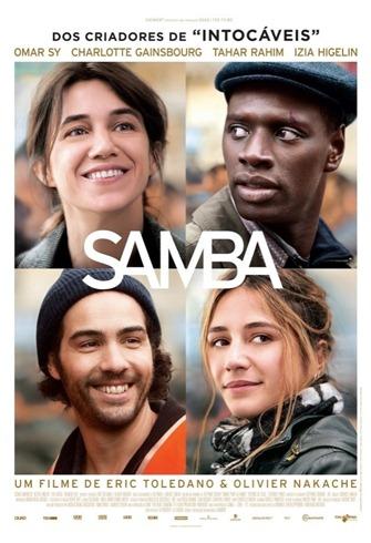 Samba - filme - poster