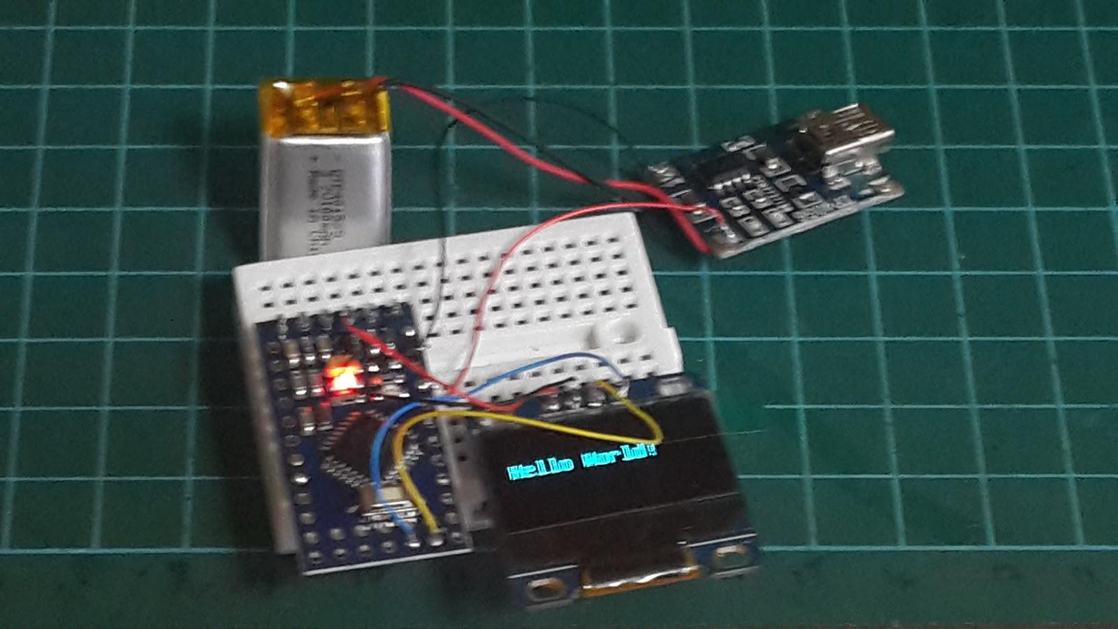 Arduino mini pro lcd gigin ginanjar