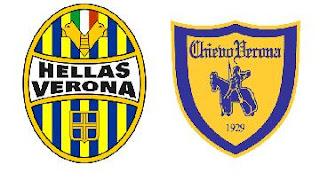 escudos Chievo y Hellas de Verona