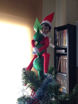 Elf on the self - Navidad