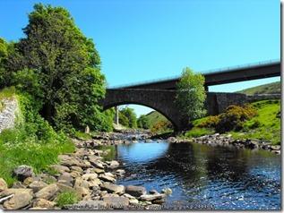 Old Telford Bridge Dunbeath. Built 1813