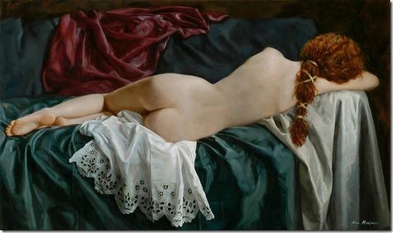 sleeping venus - Anna-Marinova - ENKAUSTIKOS