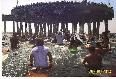 Jay Adams Memorial Paddle out on 8/30/14!