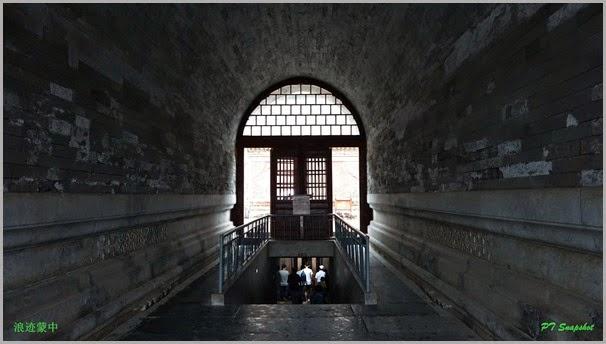 乾隆地宫的入口