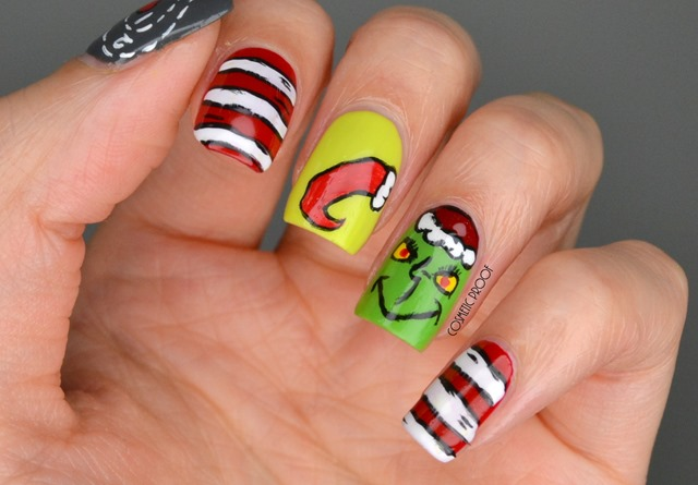 NAILS | ?You?re a Mean One?Mr. Grinch? Holiday Nail Art