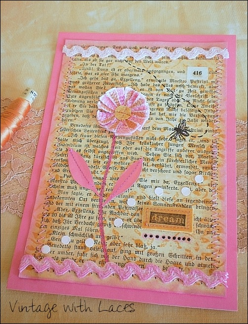 Summer of Color 2015 - Card by Vintage with Laces