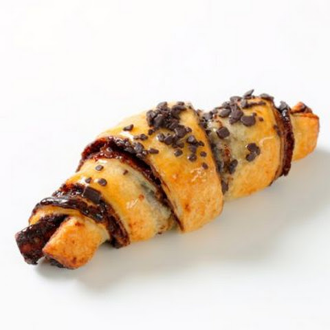 Decadent Chocolate Chip Croissants