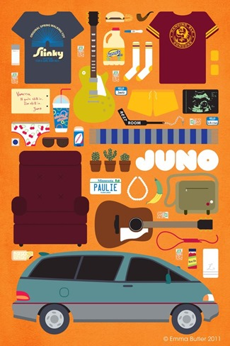 Movie Parts Series Juno by Emma Butler
