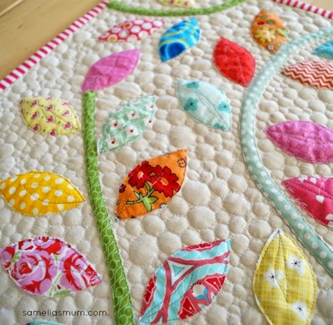 Bursting Buds Table Runner by SameliasMum 1