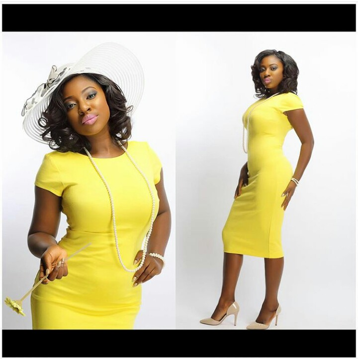 Yvonne Jegede Stuns In Yellow, Yvonne Jegede, Entertainment, Fashion, Beauty,