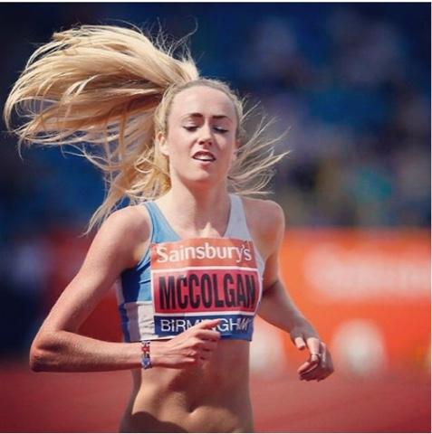 Eilish McColgan ankle