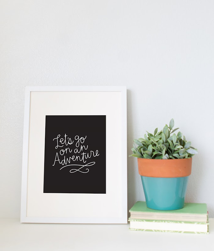 Adventure Free Print Alexa Z Design