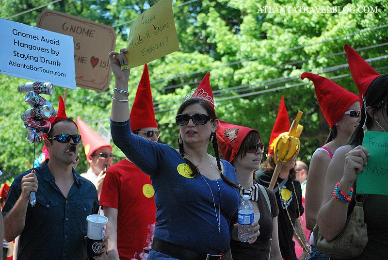 Гномы на марше