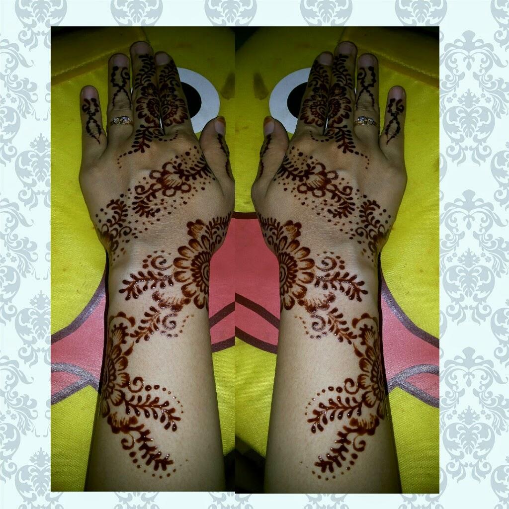 INDAH HENNA DESIGN Koleksi Henna 2015