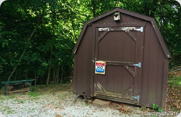 Prairie Creek our hut 06132015