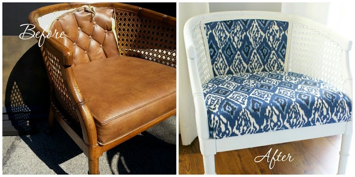 Chair Makeover at Broadview Heights