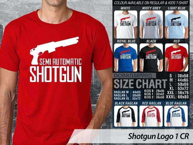 KAOS Militer Shotgun Logo 1 distro ocean seven