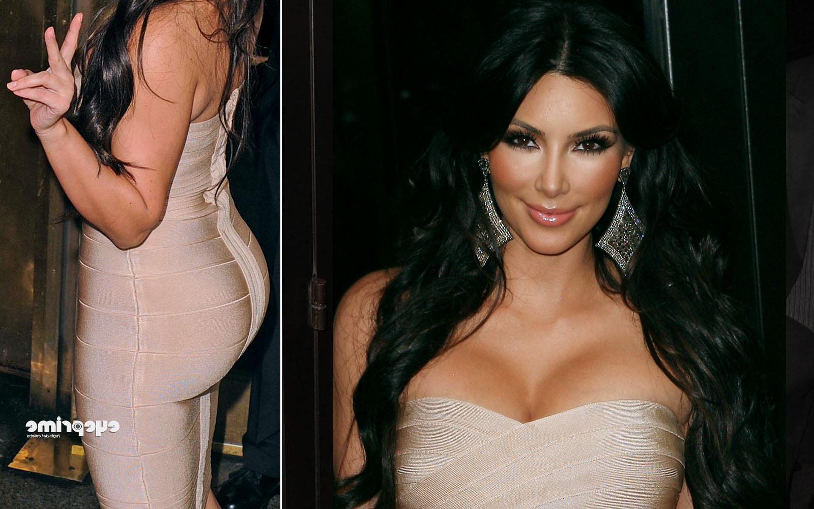 Kim Kardashian attends La La