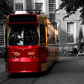 time travel by Samrat Sam - Transportation Trains ( den haag )