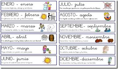 Ciclo anual mes a mes