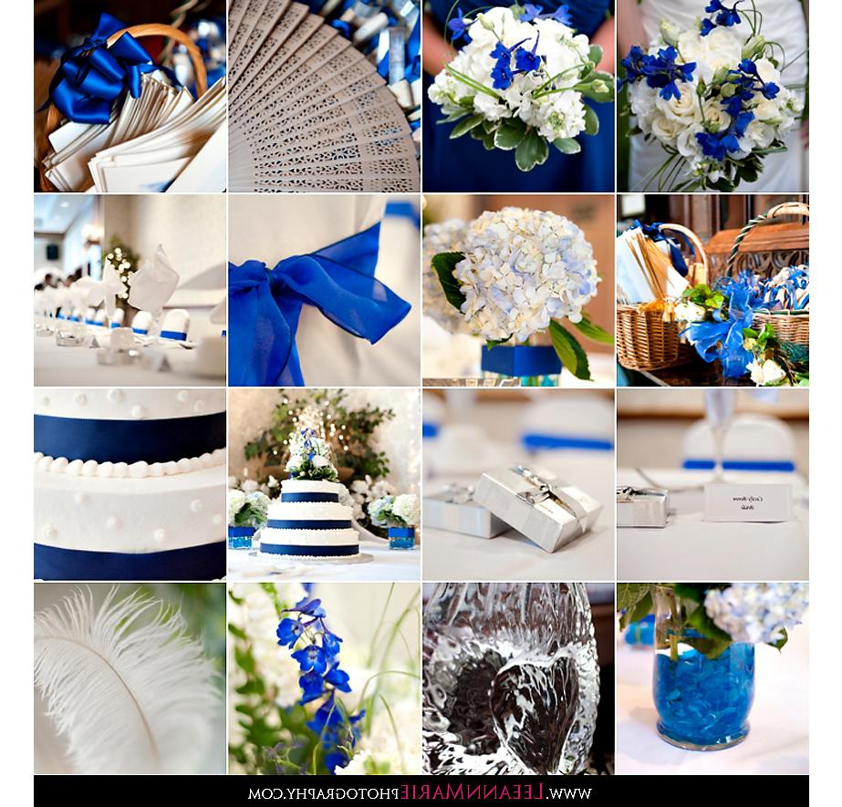 Blue & Silver Wedding Details