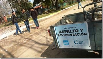 Finalizaron las tareas preparatorias para la pavimentación de calles en Mar de Ajó Norte