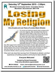 Losing My Religion 12 September 2015
