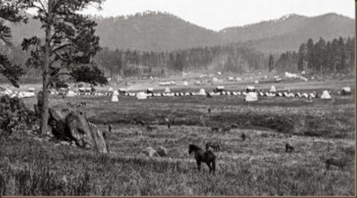 Custer Gulch horse camp2