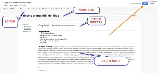 creare-pagina-web-ricette