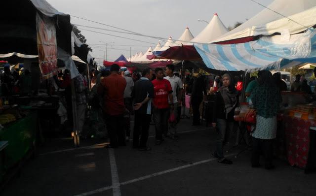 Bazar ramadan Sungai Besar