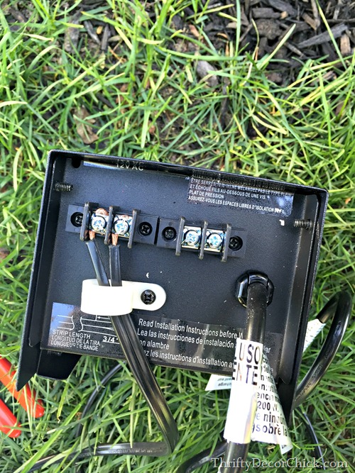 power pack for landscaping lights