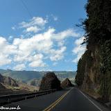Estrada para Quito, Equador