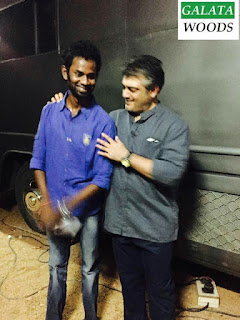 Thala 56 latest images pics of stylish Ajith and Lakshmi Menon