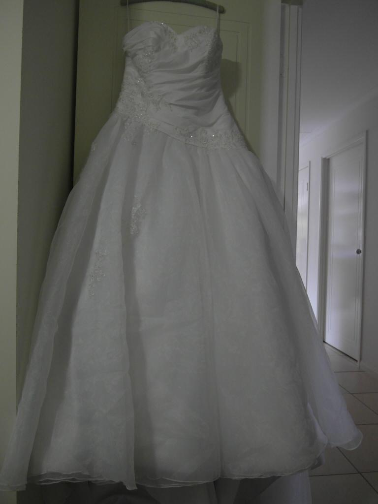 Last but not least my dress