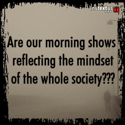 morning shows, society, mindset, thought process, fair complexion, discrimination